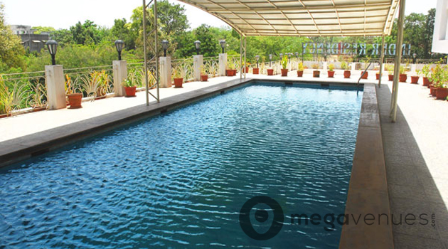 Pool-Side at Inder Residency