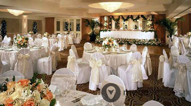 Wedding at Hilton Los Angeles Airport