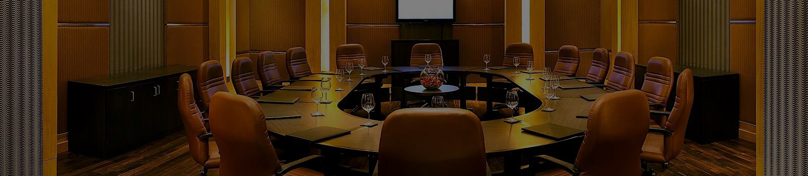 Boardroom at The Lalit