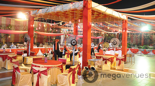 Reception at Rajmahal Banquets and Party Farms