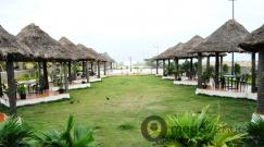 Garden Lawn with Hut at The Country Club Jade Resorts